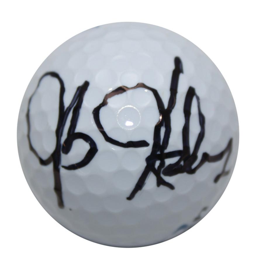 JB Holmes Autographed Golf Ball