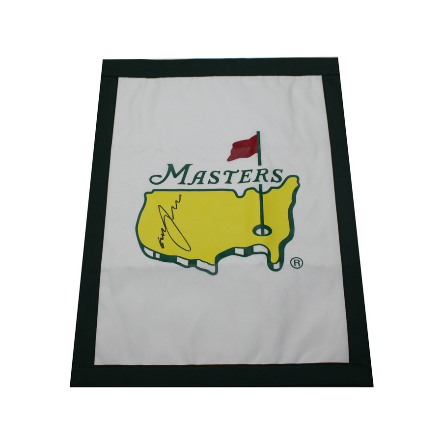 Graham McDowell Autographed Masters Garden Flag
