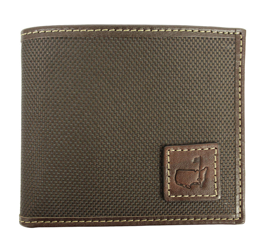 Augusta National Masters Brown Leather Wallet