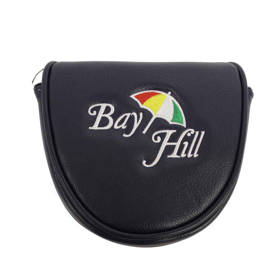 Arnold Palmer Bay Hill Leather Putter Cover- Navy
