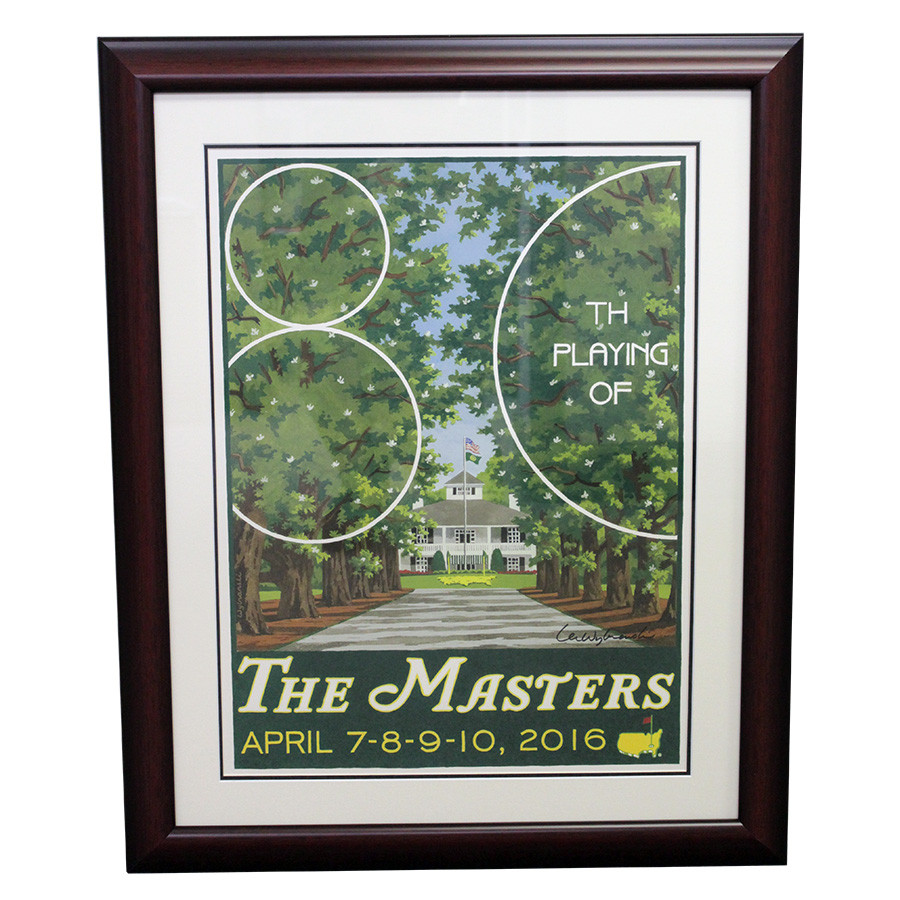 2016 Framed Masters Clubhouse Portrait