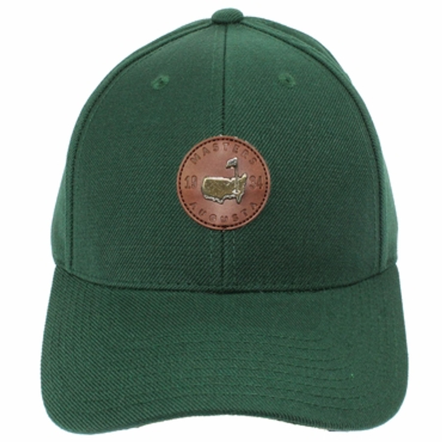 Berckmans Place Green Hat - Leather Adjustable Strap