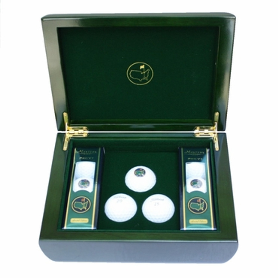 Masters 1934 Commemorative Box & Golf Balls