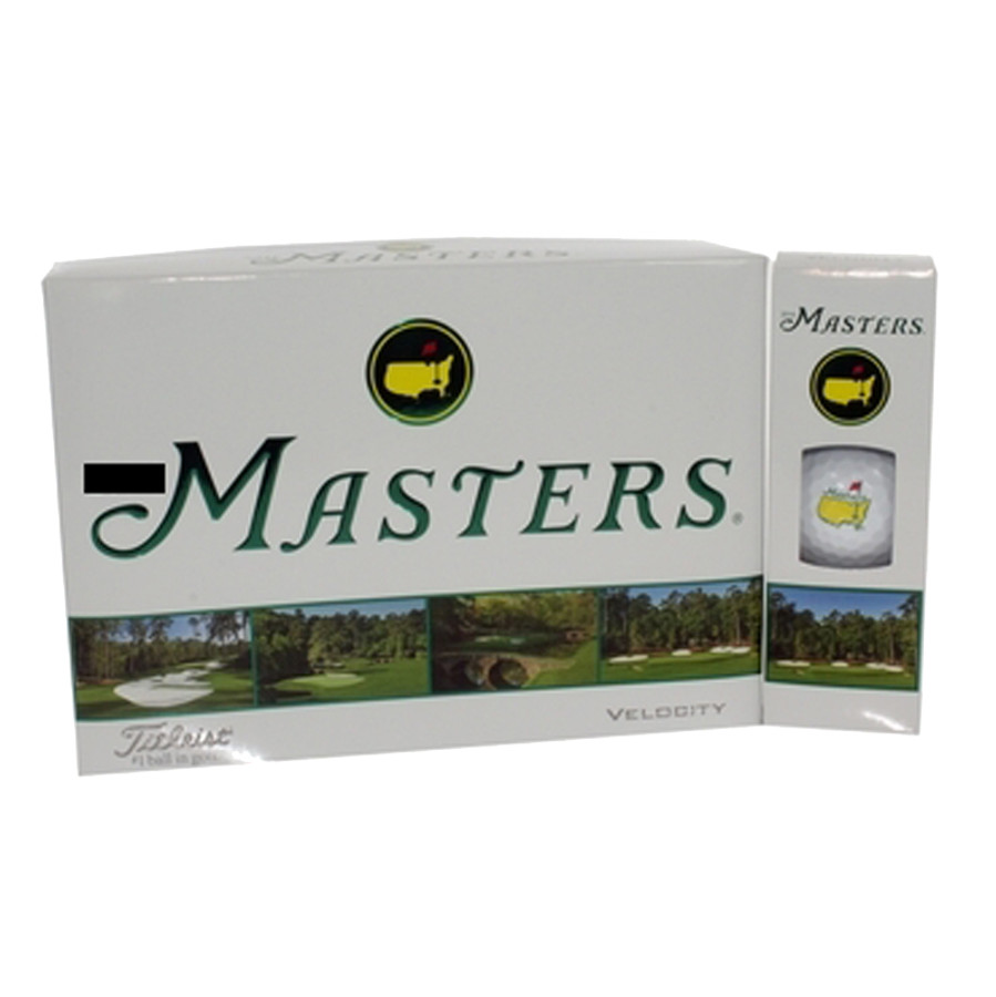 Masters Golf Balls - Velocity - Dozen - 2015 Version