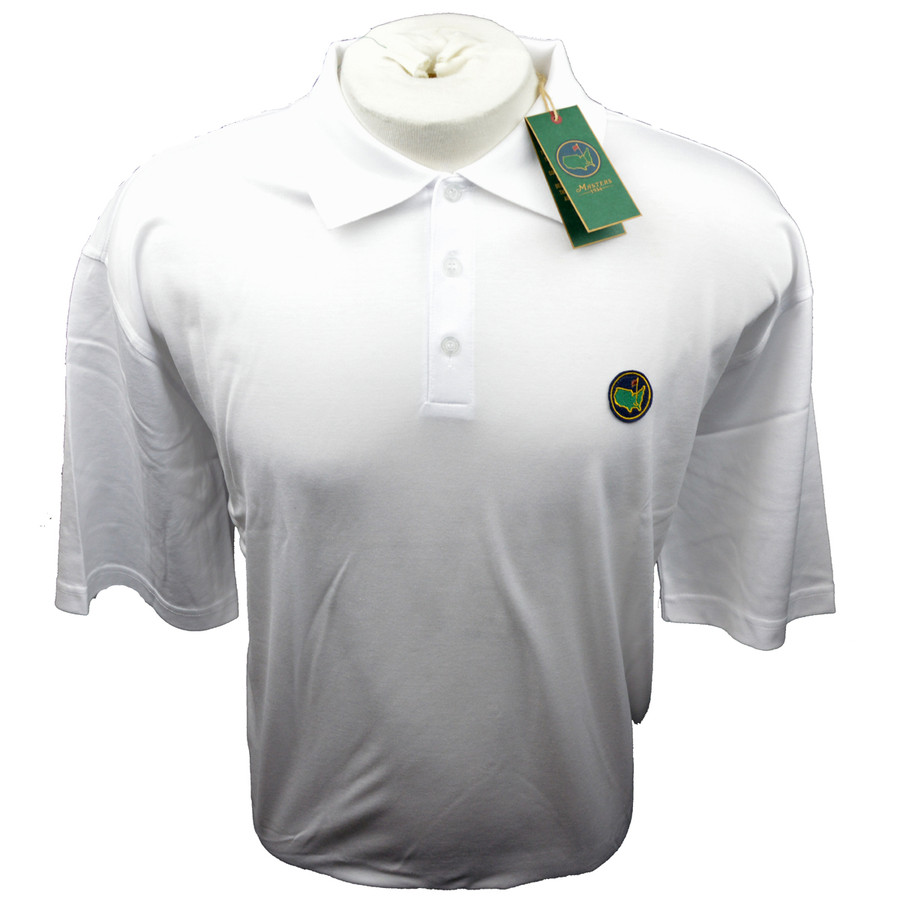 Berckman's Exclusive Masters Golf Polo - White