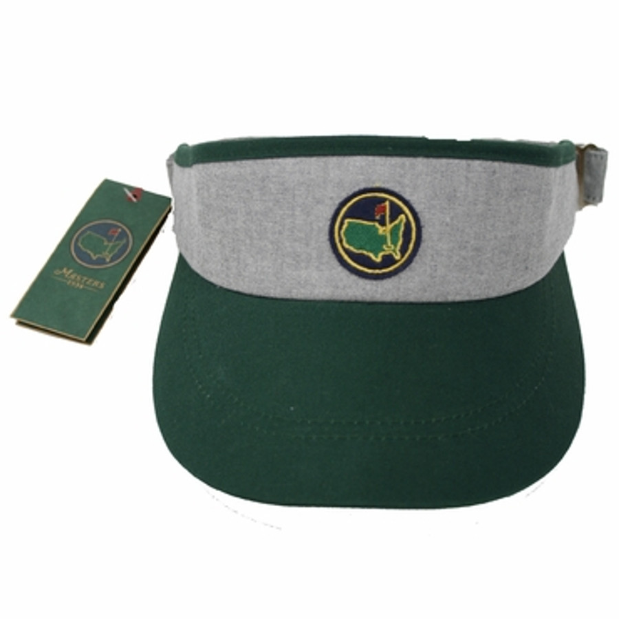 Masters Members Undated Visor Gray & Green