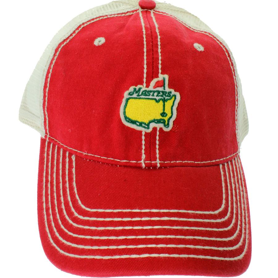 Masters Red Trucker Hat