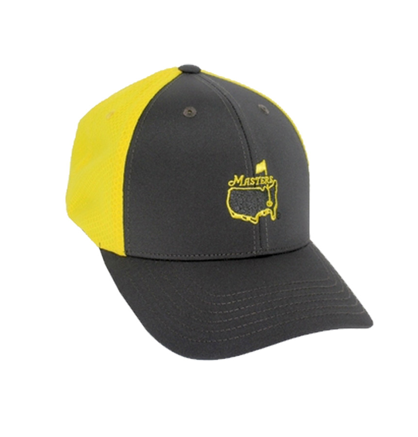 Masters Tech Hat - Charcoal & Yellow