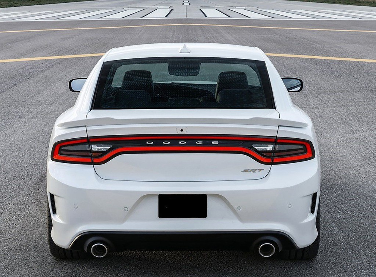 dodge charger hellcat 2011 2014 factory flush no light rear trunk spoiler 707 motoring auto parts accessories dodge charger hellcat 2011 2014 factory flush no light rear trunk spoiler