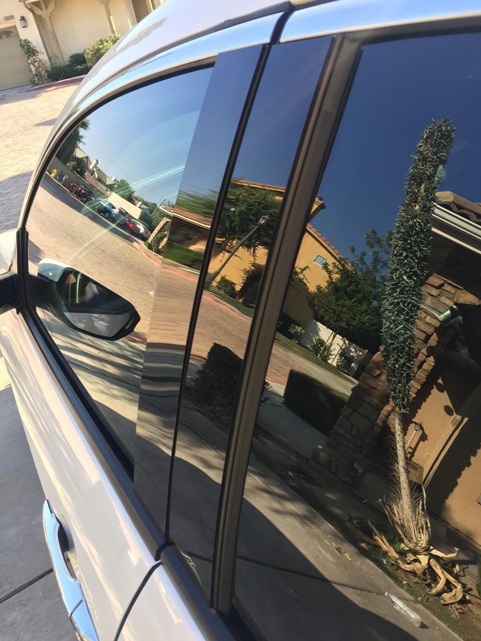 Volkswagen Passat 2012 2019 Glossy Black Pillar Posts Trim 6pcs 707 Motoring Auto Parts Accessories