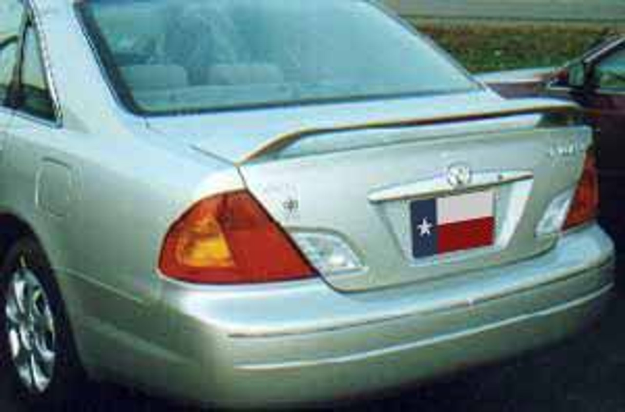 toyota avalon 2000 2004 factory post lighted rear trunk spoiler 707 motoring auto parts accessories toyota avalon 2000 2004 factory post lighted rear trunk spoiler