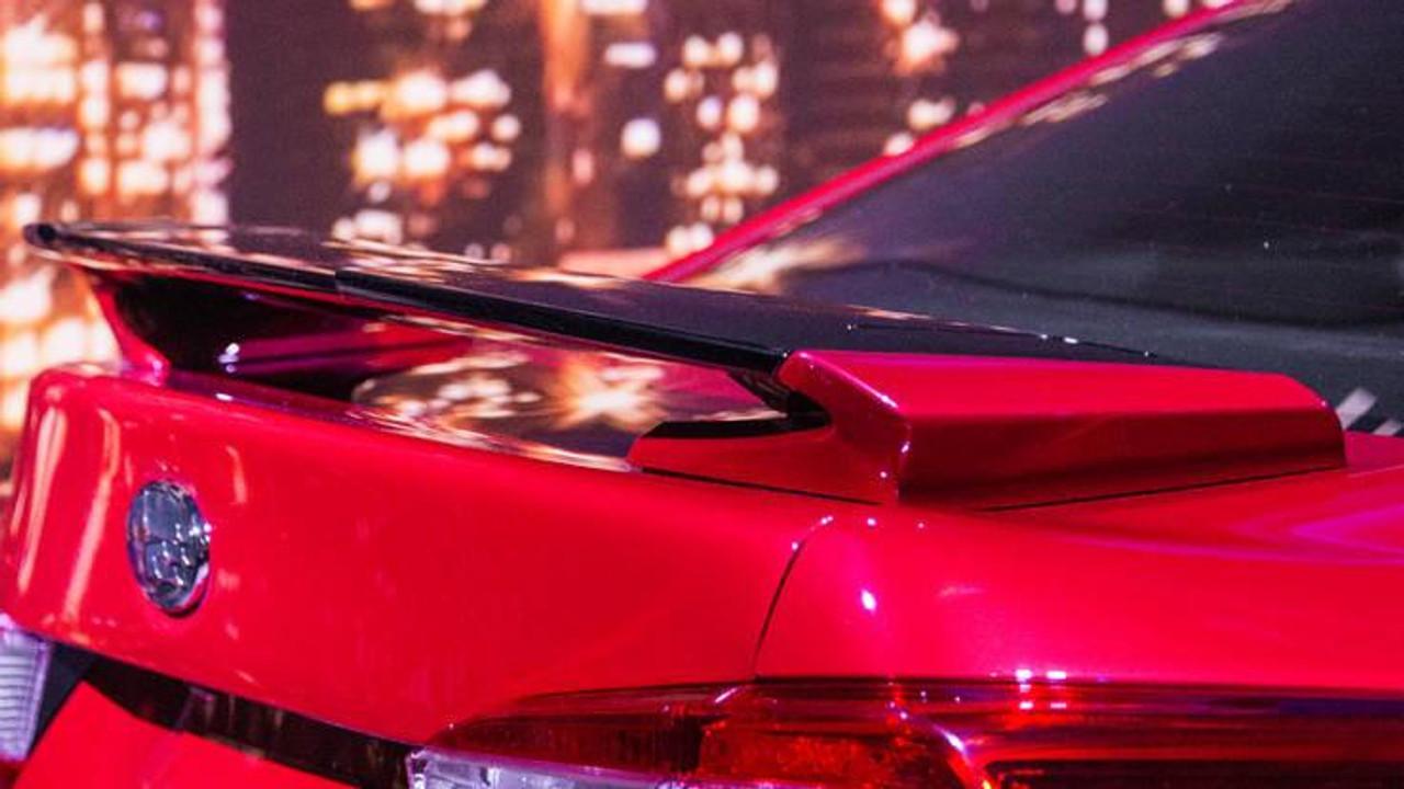 Unpainted Factory Style Rear Roof Spoiler Subaru Impreza Wagon 2012