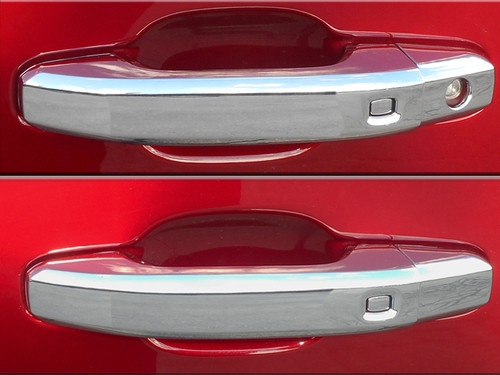 Chrome ABS plastic Door Handle Covers for Cadillac Escalade 2015-2020