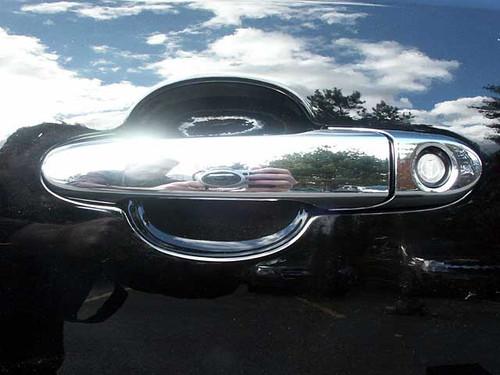 Chrome ABS plastic Door Handle Covers for Chevrolet Cobalt 2005-2010