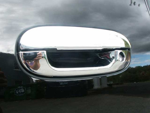 Chrome ABS plastic Door Handle Covers for Chevrolet Trailblazer 2002-2009