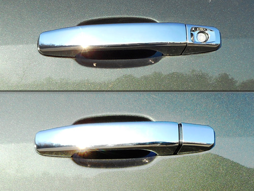 Chrome ABS plastic Door Handle Covers for Chevrolet Colorado 2015-2020