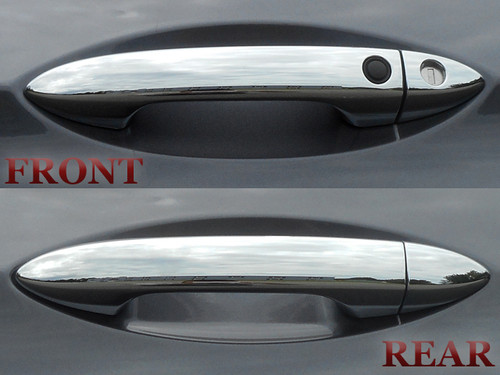 Chrome ABS plastic Door Handle Covers for Honda Pilot 2016-2020