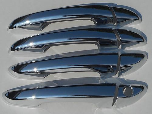 Chrome ABS plastic Door Handle Covers for Hyundai Sonata 2015-2019