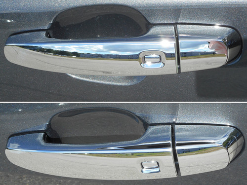 Chrome ABS plastic Door Handle Covers for Chevrolet Equinox 2018-2020
