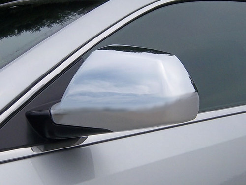 Chrome ABS plastic Mirror Covers for Cadillac CTS Coupe 2011-2014