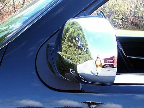 Chrome ABS plastic Mirror Covers for Cadillac Escalade 2007-2014