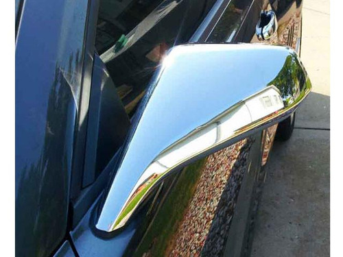 Chrome ABS plastic Mirror Covers for Chevrolet Camaro 2010-2013