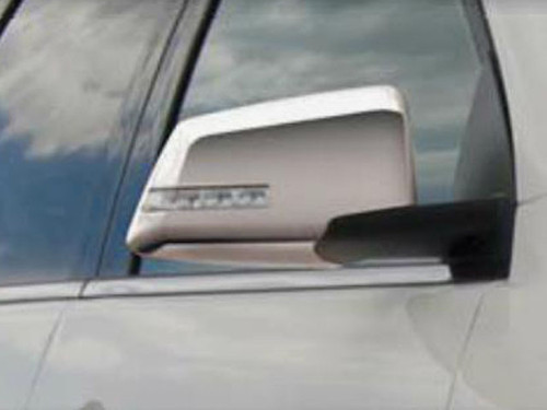 Chrome ABS plastic Mirror Covers for Chevrolet Traverse 2009-2017
