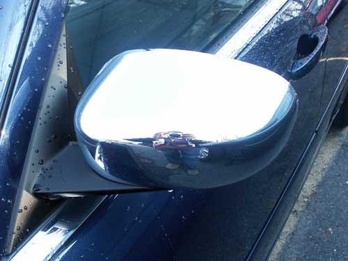 Chrome ABS plastic Mirror Covers for Chrysler 300 2005-2010