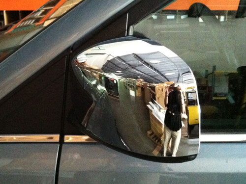 Chrome ABS plastic Mirror Covers for Chrysler Town & Country 2008-2016