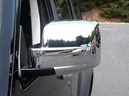 Chrome ABS plastic Mirror Covers for Dodge Nitro 2007-2011