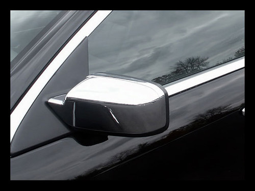 Chrome ABS plastic Mirror Covers for Ford Fusion 2006-2012