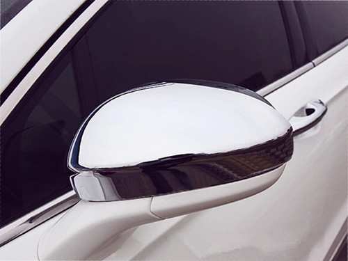 Chrome ABS plastic Mirror Covers for Ford Fusion 2013-2020