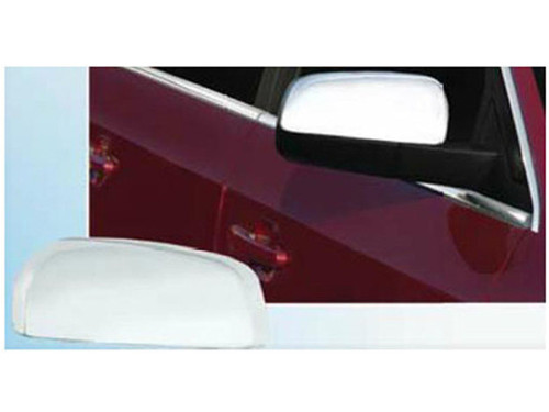 Chrome ABS plastic Mirror Covers for Ford Taurus 2010-2019
