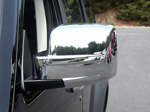 Chrome ABS plastic Mirror Covers for Jeep Liberty 2008-2012