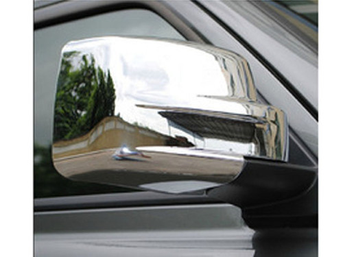Chrome ABS plastic Mirror Covers for Jeep Patriot 2007-2017