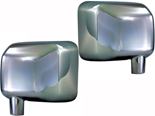 Chrome ABS plastic Mirror Covers for Jeep Wrangler JK 2007-2018