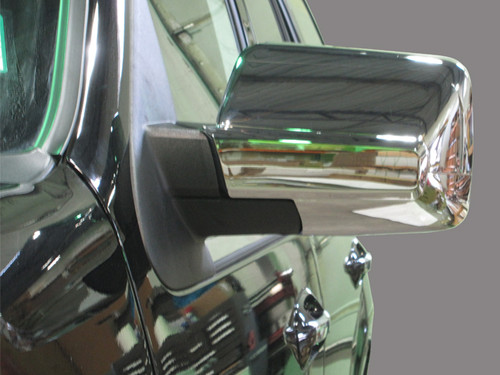 Chrome ABS plastic Mirror Covers for Lincoln Navigator 2007-2017