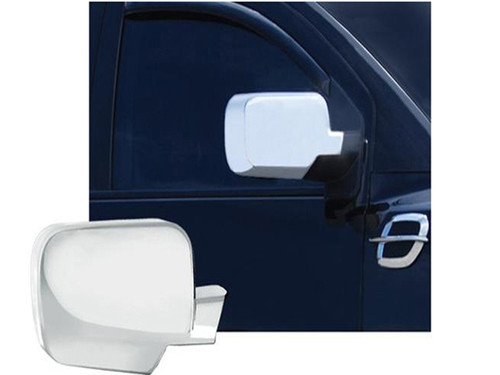 Chrome ABS plastic Mirror Covers for Nissan Titan 2004-2015