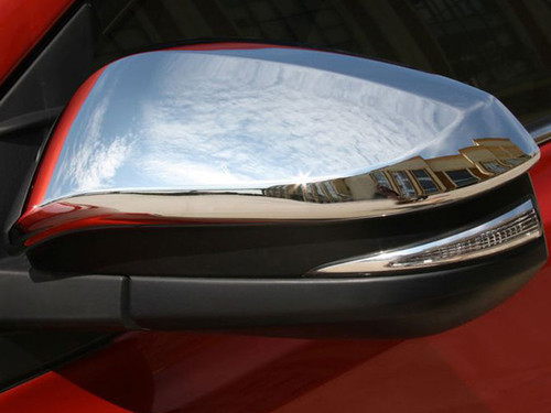 Chrome ABS plastic Mirror Covers for Toyota Highlander 2014-2019