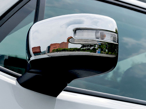 Chrome ABS plastic Mirror Covers for Jeep Renegade 2015-2020