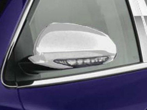Chrome ABS plastic Mirror Covers for Buick Enclave 2010-2017