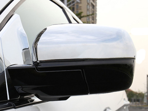 Chrome ABS plastic Mirror Covers for Ford Edge 2017-2020