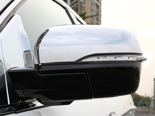 Chrome ABS plastic Mirror Covers for Ford Edge 2015-2020