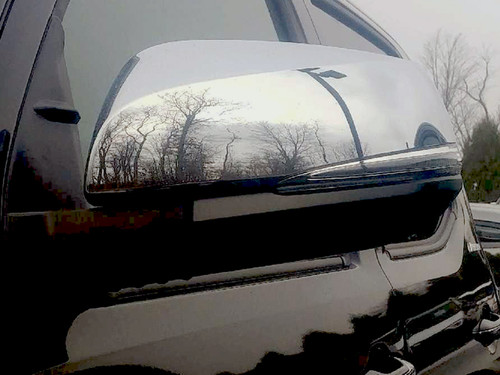 Chrome ABS plastic Mirror Covers for Toyota Tacoma 2016-2020