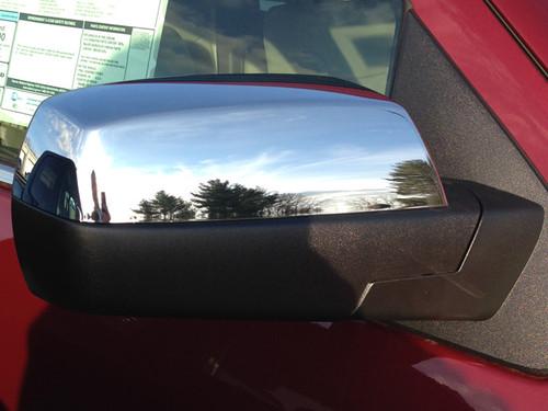 Chrome ABS plastic Mirror Covers for Chevrolet Silverado 2019