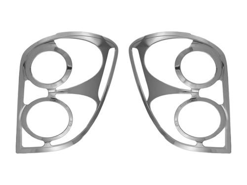 Chrome ABS plastic Tail Light Bezels for Chevrolet Equinox 2010-2015
