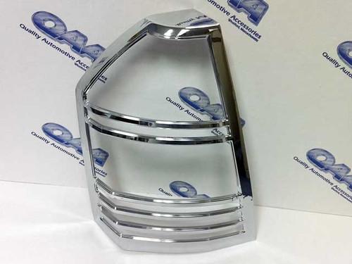 Chrome ABS plastic Tail Light Bezels for Chrysler 300 2008-2010