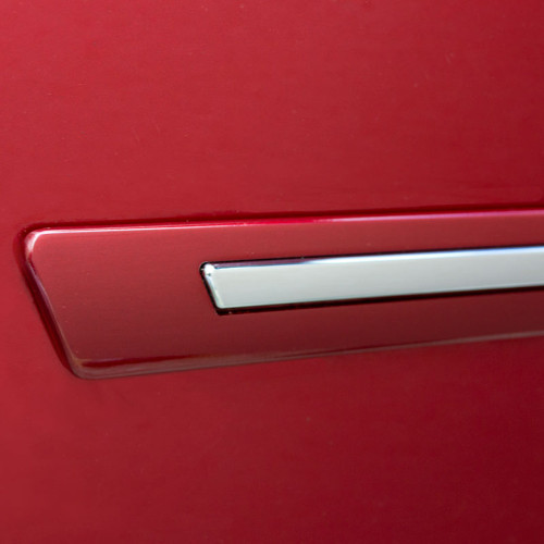Painted Body Side Door Moldings W/Chrome Insert for CADILLAC STS 2005-2011