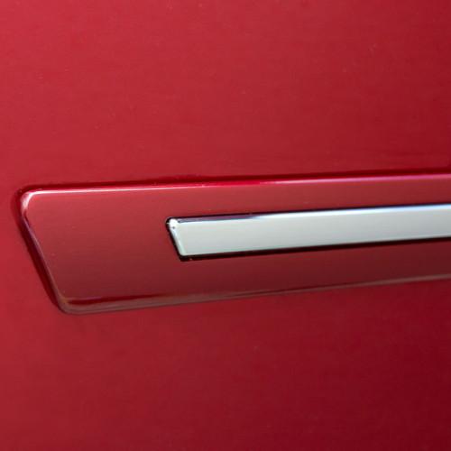 Painted Body Side Door Moldings W/Chrome Insert for CHEVROLET Malibu 2016-2020