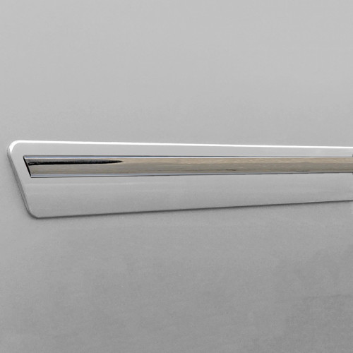 Painted Body Side Door Moldings W/Chrome Insert for CHEVROLET Equinox 2010-2017